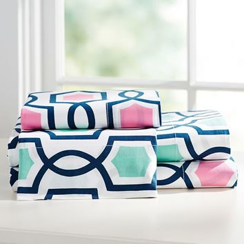 Trellis Twist Sheet Set