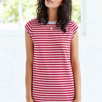 Silence + Noise Gemma Cap-Sleeve T-Shirt Dress-