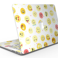 The All Over Emoji Pattern - MacBook Air Skin Kit