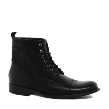 Base London Slouch Military Boots