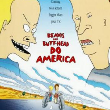 Beavis And Butthead Movie Poster Do America 11x17 Mini Poster