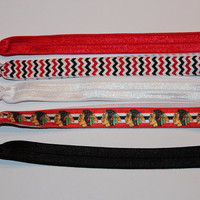 Chicago Blackhawks Set of 5 Headbands!!
