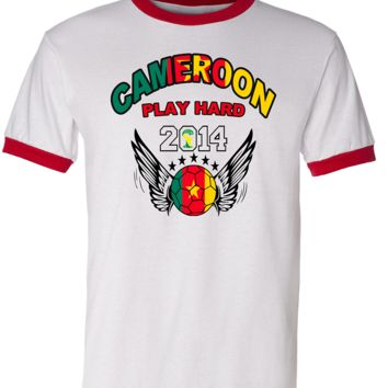CAMEROON WORLD CUP T SHIRTS