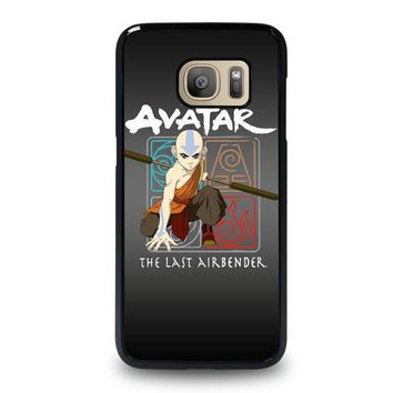 avatar last airbender samsung galaxy s7 case cover  number 1