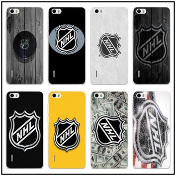 Cell Phone Case for Huawei P20 P10 P9 P8 Lite Mate 10 Pro Y5 Y6 II Y7 Honor 6X 7X 9 Lite Shell Soft Silicone TPU Nhl Hockey Puck
