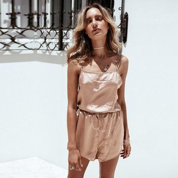 Backless Summer Love Top/Shorts Set