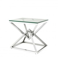 Stainless Steel Side Table   Eichholtz Connor