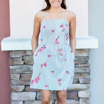 All Yours Fit + Flare Dress