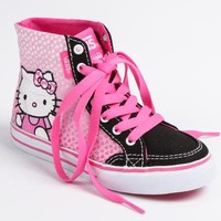 VANS x Hello Kitty Kids Authentic Hi-Top: Pink