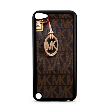 Michael Kors Logo Brown iPhone 5C Ipod Touch 5 Case
