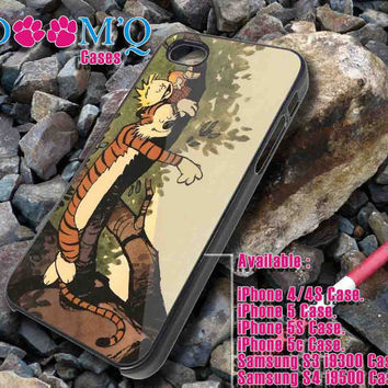 calvin and hobbes iPhone case, iPhone 4/4S, 5, 5S, 5C Case, Samsung S3, S4 Case By Doomqcases for Accessories beautiful