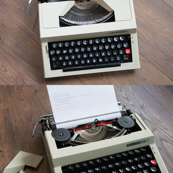 Working Typewriter, Vintage Manual Typewriter, Crown 36, Type Writer, Office Home Decor, Studio Decor