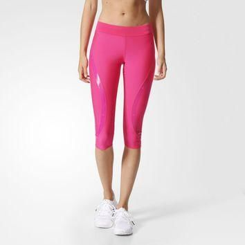 adidas Run Three-Quarter Tights - Pink | adidas US