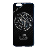 Game Of Throne Targaryen Case for LG G3 Samsung S3 S4 S5 Mini S6 S7 Edge Plus Note 3 4 5 iPhone 4 4S 5 5S 5C 6 6S 7 Plus iPod 5
