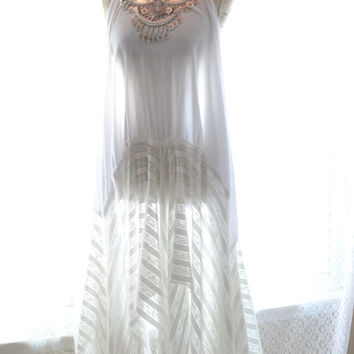 Sexy Bohemian gypsy Music Festival Stevie Nicks style maxi dress, The Joplin hippie Boho dresses, Bohemian Prom dress, True rebel clothing