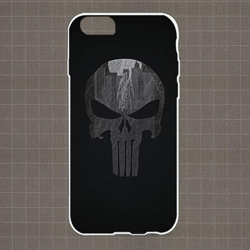 PUNISHER iPhone 4/4S, 5/5S, 5C Series Hard Plastic Case