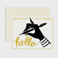Hello Note Card Set