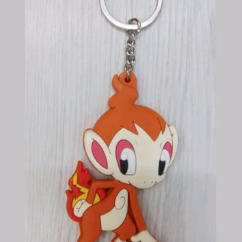 Brand New Video Game Pokemon Chimchar Keychain