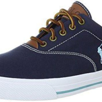 Polo Ralph Lauren Men's Vaughn Canvas/Leather Lace up casual