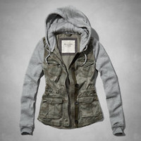 Womens Fashion Jackets Outerwear | Abercrombie.com