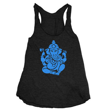 Womens GANESH american apparel TriBlend Racerback by happyfamily