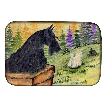 Scottish Terrier Dish Drying Mat SS8634DDM