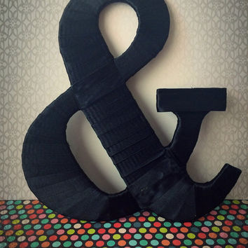 """Custom Decorated Letters- """"&"""" by Tightly Wound Designs"""