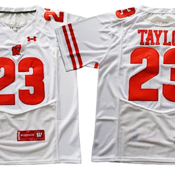 Jonathan Taylor #23 Wisconsin Badgers Jersey (Adult and Youth Sizes)