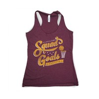 Squad Goals - Womens Wine Tank Top