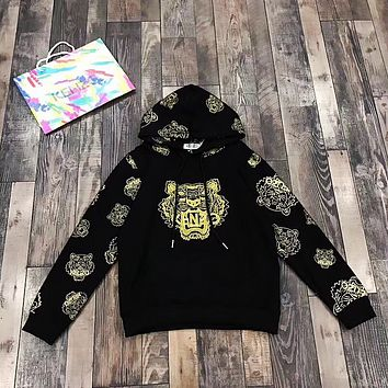 '' KENZO '' Women Men Embroidery Hot Hoodie Sweater