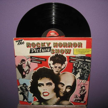 Vinyl Record Album Rocky Horror Picture Show by JustCoolRecords