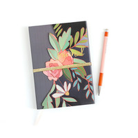 Hazelwood Die Cut Floral Journal