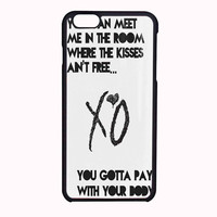 The Weeknd FOR IPHONE 6 CASE NEWEST *PS*