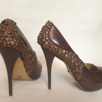Khaleesi Mother of Dragons Bronze High Heels