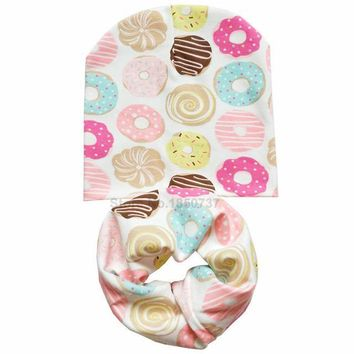 Tasty Donuts Hat And Scarf Set