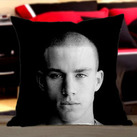 Channing Tatum - Design Pillow by CherryPerfecly