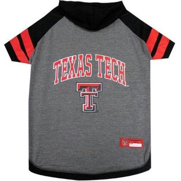 ESBONI Texas Tech Red Raiders Pet Hoodie T-Shirt