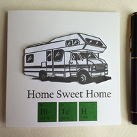 Home Sweet Home Card, Funny Card, New Home Card, Welcome Home