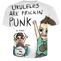 Ukuleles Are Punk!!!