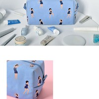 Dancing Makeup Bag by kiitos