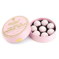 Charbonnel et Walker® Pink Marc de Champagne Truffles | Sur La Table