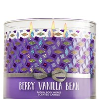 3-Wick Candle Berry Vanilla Bean