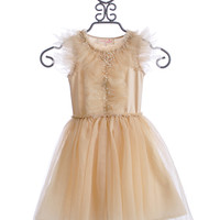 Tutu Du Monde Girls Fancy Dress Peach