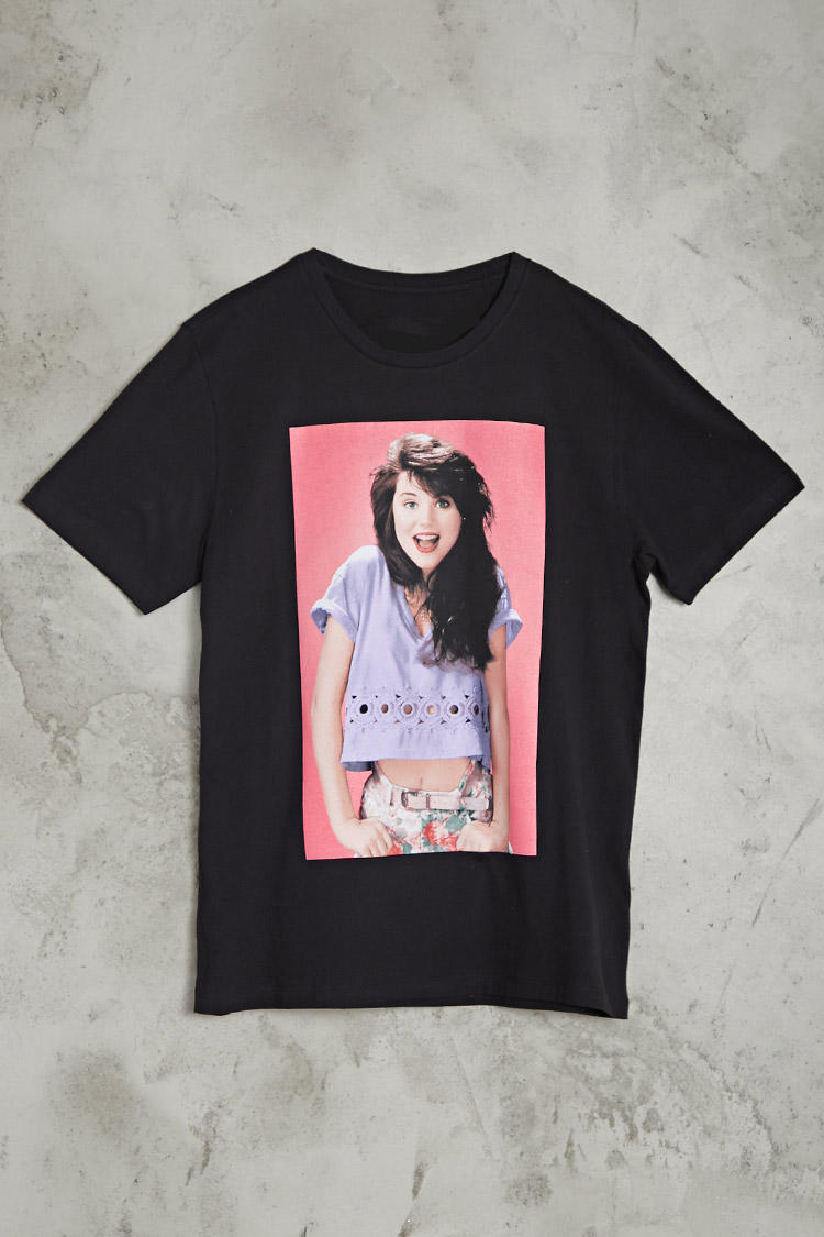 Kelly Kapowski Graphic Tee from Forever 21 | Quick Saves