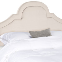 Safavieh Kerstin Arched Upholstered Headboard