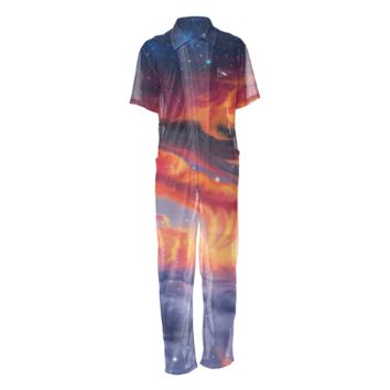 Eternal shining Mesh Jumpsuit2