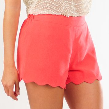 Light The Spark Shorts: Coral