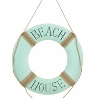 Benzara Attractive Metal Beach Wall Decor