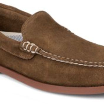 Sperry Top-Sider Authentic Original Suede Venetian Loafer Tan, Size 10M  Men's Shoes