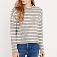 BDG Boxy Striped Turtleneck Top - Urban Outfitters